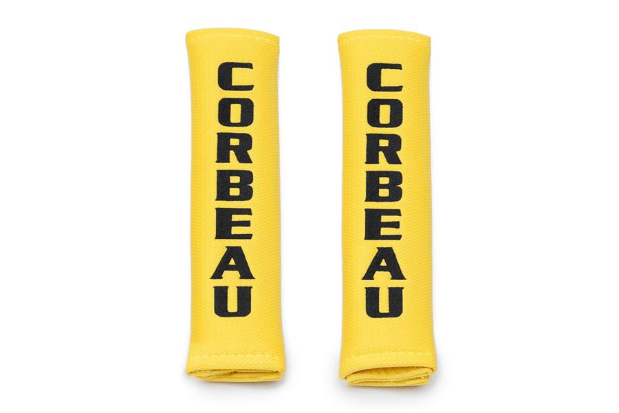 Corbeau 2in Harness Pad Yellow