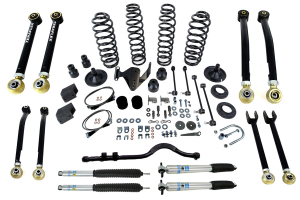 Teraflex 4in Lift Kit w/8 Control Arms Bilstein Shocks ( Part Number: 1156400-BIL)