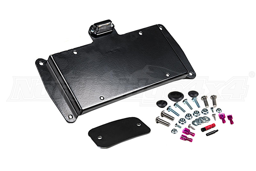 JKS Rear License Plate Relocation Kit w/Light (Part Number:8210)