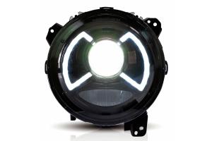 Quake LED X-Wing 9in Headlights - JT/JL