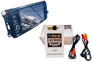 Insane Audio Head Unit & Camera Package (Part Number: )
