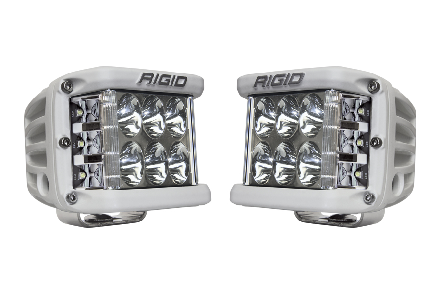 Rigid Industries D-SS Side Shooter LED Cube, Driving Pair (Part Number:862313)