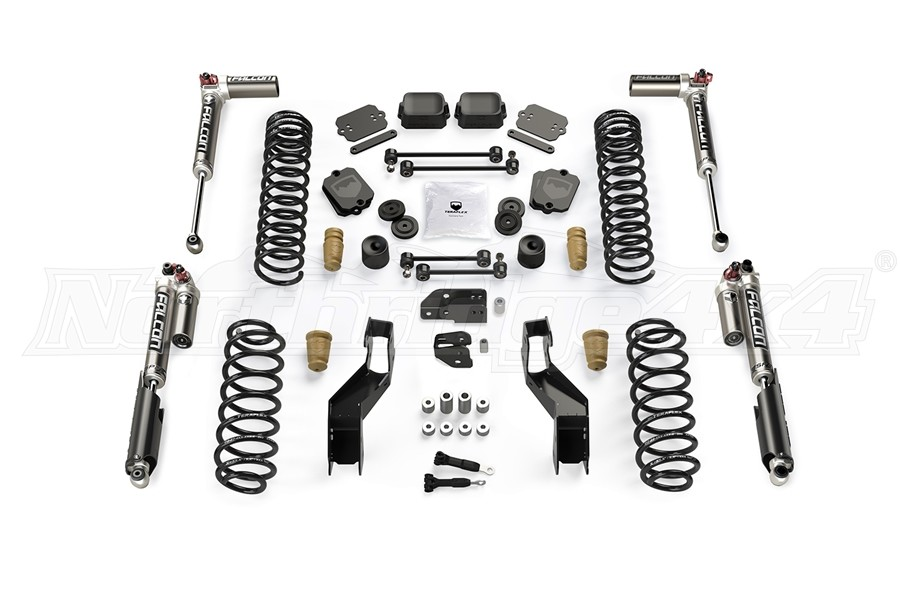 Teraflex 4.5in Sport ST4 Suspension System w/ Falcon SP2 3.3 Shocks - JL 2Dr