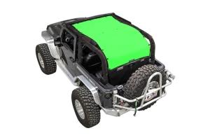 SpiderWebShade Long Shade Top - Green - JK 2Dr