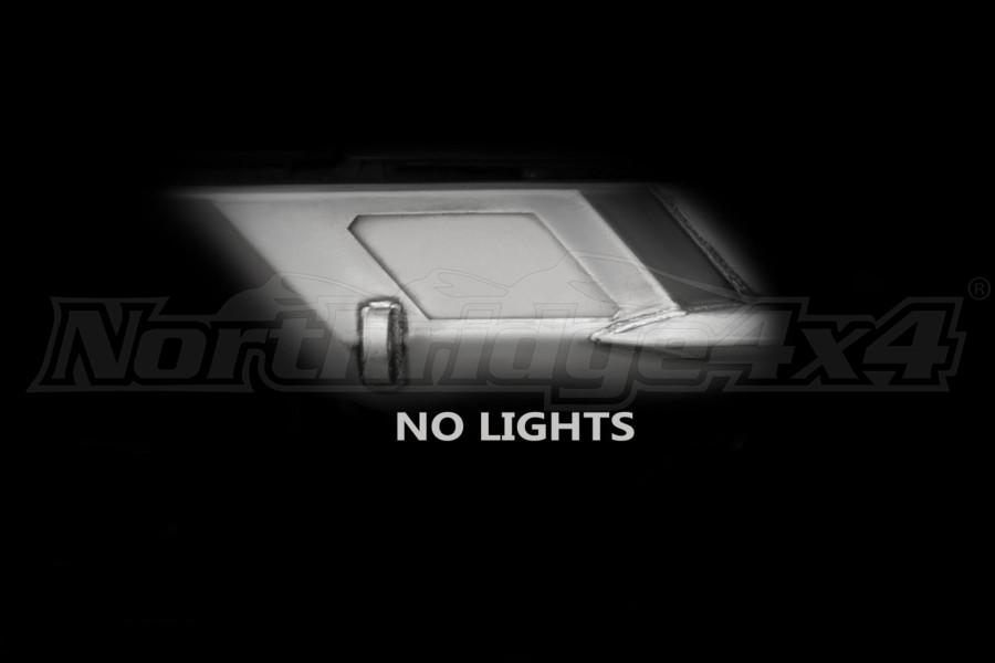 LOD Destroyer Light Bezel Options, No Lights Bare Steel (Part Number:JLB0700)