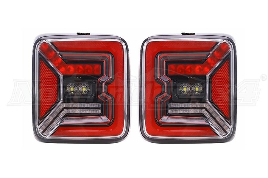 Quake LED Tech Tail Lights - JL