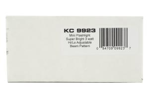 KC HiLiTES Adjustable Focus LED Flashlight  (Part Number: )