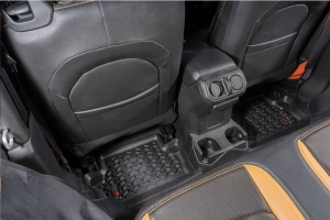 Rugged Ridge Front and Rear Floor Liner Kit - JL 2dr