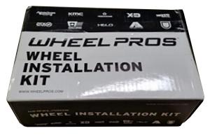 Wheel Pros 20mm 1/2in Spline Lug Nuts Kit Black - JK/TJ/XJ/YJ/ZJ