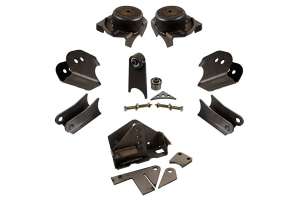 Synergy Manufacturing HD Front Axle Bracket Kit - JK
