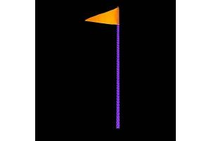Quake LED 6ft LED RGB Accent Whip Light - Single