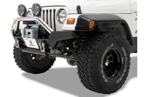 Bestop HighRock 4x4 High Access Front Bumper Matte - TJ