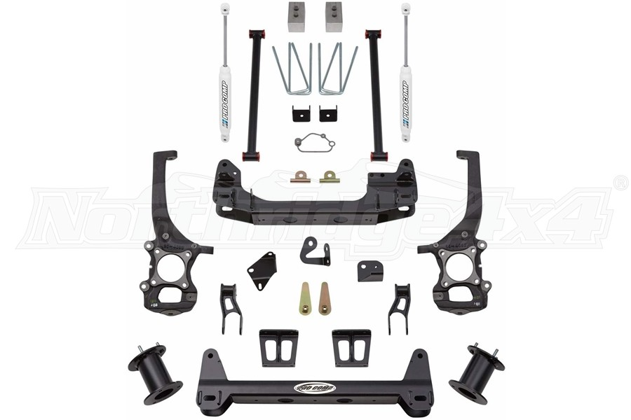 Pro Comp Suspension Lift Kit 6in - 04-08 4WD F150