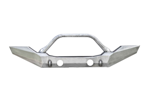 LOD Destroyer Full-Width Front Bumper w/Bull Bar Bare Steel (Part Number: )