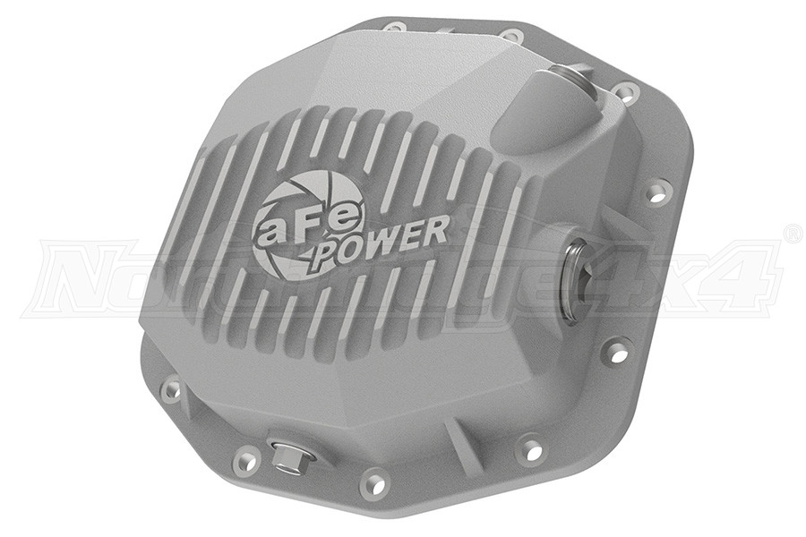 AFE Power Street Series Rear Differential Cover Raw w/ Machined Fins, M220-12 - JL RUBICON