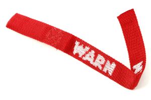 Warn Hook Strap Red