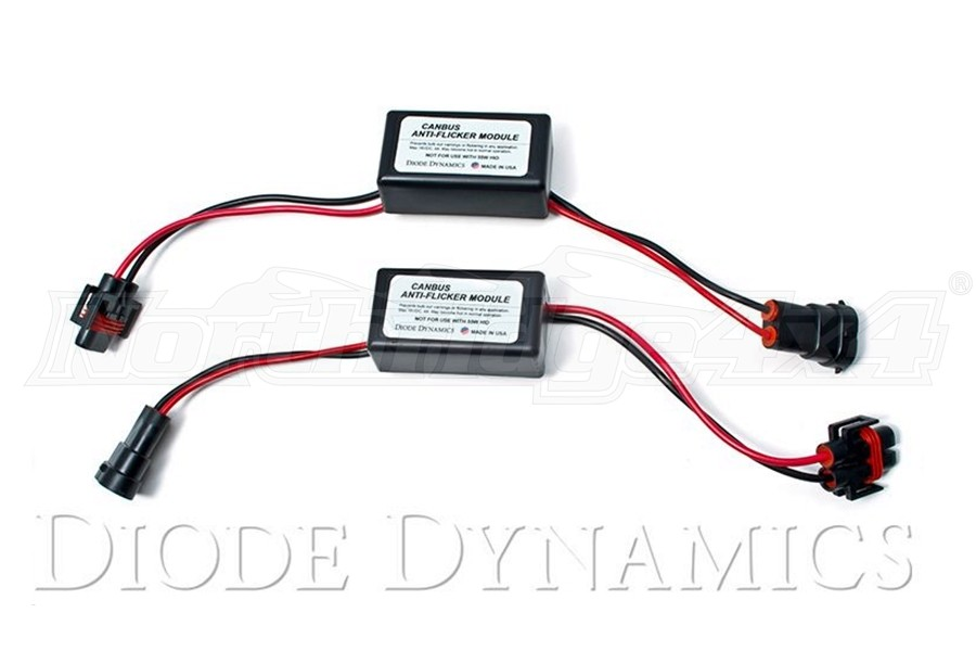Diode Dynamics 9006 CanBus Anti-Flicker Module, Pair  (Part Number:DD3022)