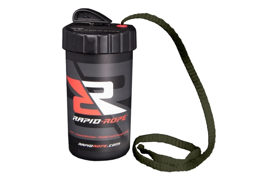 Rapid Rope Canister w/ 120ft of Rope - Green