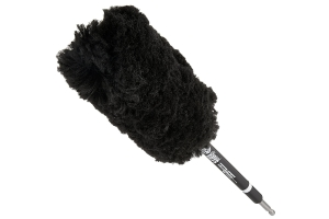 Chemical Guys Power Woolie Synthetic Microfiber Wheel Brush w/ Drill Adapter
