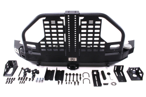 Smittybilt XRC Atlas Bumper w/Tire Carrier and Hitch Rear ( Part Number: 76896)