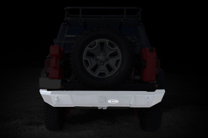 LOD Signature Series Rear Bumper w/NO Light Cutouts Bare Steel (Part Number: )