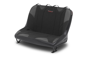 MasterCraft Rubicon Dirtsport Bench Seat w/o Headrests Black / Black - JK 4dr 2007-12
