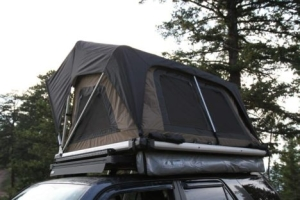 Freespirit Recreation Adventure Series Manual 55in Roof Top Tent, Tan/Black/Black (Part Number: )