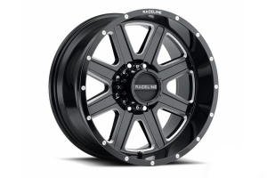 Raceline 940M Hostage Wheel, 17x9 5x5 - Gloss Black - JT/JL/JK