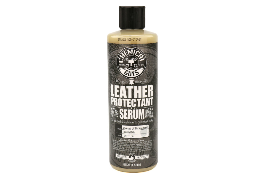 Chemical Guys Leather Serum Conditioner and Protective - 16oz