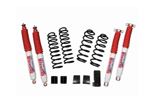 SkyJacker Suspension 2.5in Soft Ride Coil Spring Lift Kit w/ Hydro 7000 Shocks - JK 2Dr