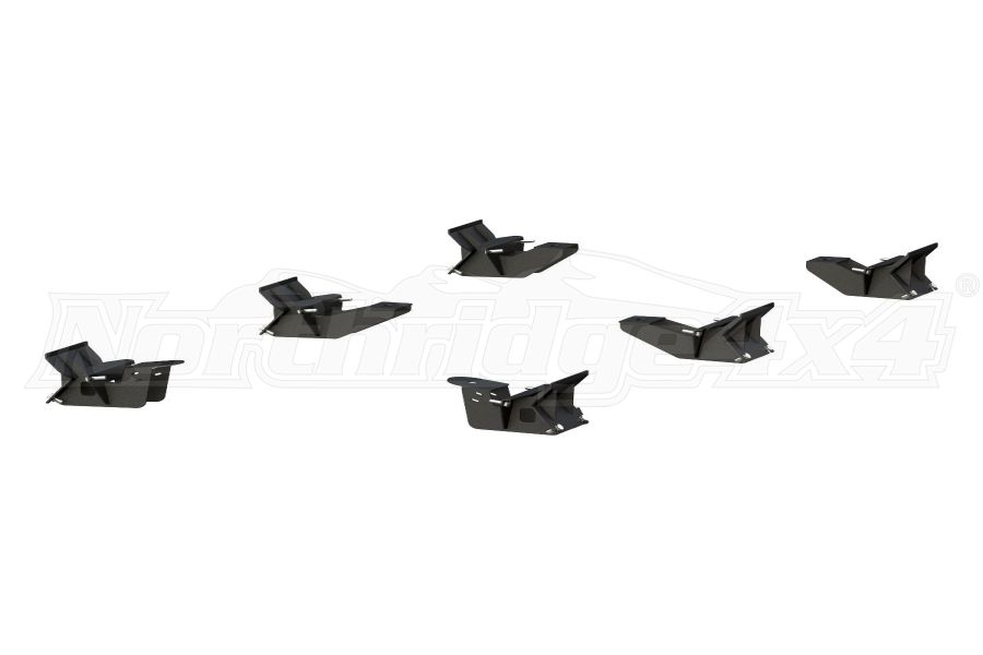Aries Mounting Brackets for ActionTrac - JL 4dr