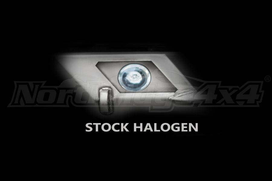 LOD Destroyer Light Bezel Options, Halogen Lights Black Powder Coated  - JK