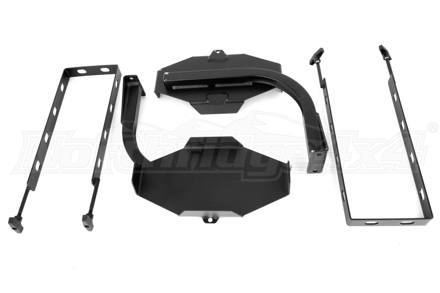 LOD Generation 3 Blitz Style Jerry Can Mounts Pair Black Powder Coated (Part Number:JJC0763)