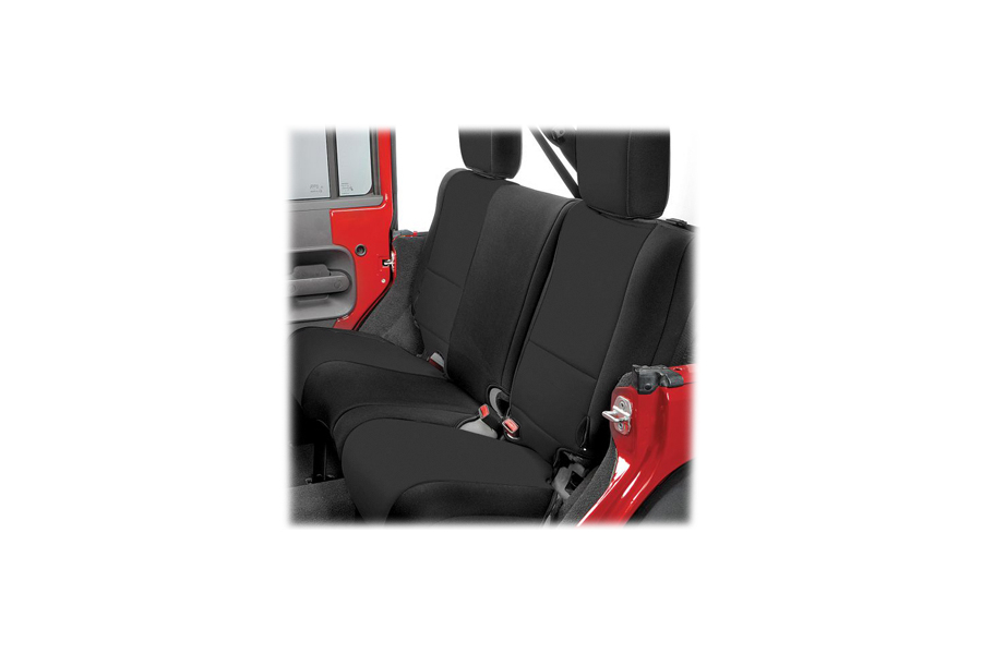Rugged Ridge Rear Seat Cover Black/Black (Part Number:13264.01)