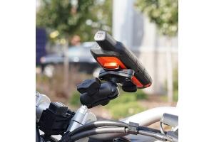 RAM Mounts RAM Spine Clip Holder w/ Ball for Garmin Handheld Devices