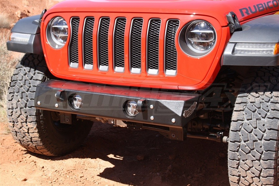 Rock Hard 4x4 Freedom Series Stubby Front Bumper, Steel (Part Number:RH-90202)