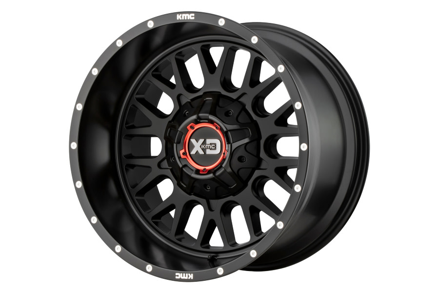 XD Series XD842 Snare Wheel 20X10 5X5/5.5 Satin Black  - JT/JL/JK