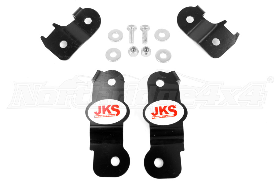 JKS Brake Line Relocation Kit Front and Rear (Part Number:2290)