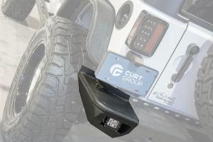 Trail Chaser Rear Bumper Corners W/ LED's - JK