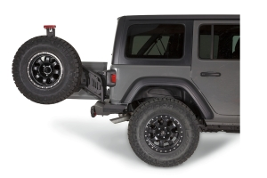 WARN Elite Series Rear Tire Carrier Option (Part Number: )