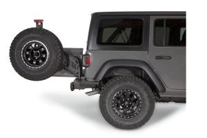 WARN Elite Series Rear Tire Carrier Option - JL