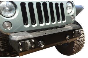 Iron Cross Stubby Front Bumper w/out Bar  - JK