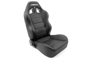 Corbeau Baja XRS Suspension Seat Black Vinyl ( Part Number: 96601)