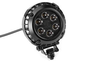 KC HiLiTES LZR 6 LED Black (Part Number: )