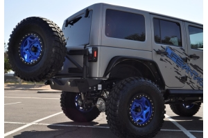 Addictive Desert Designs Stealth Fighter Rear Bumper Add-On Tire Carrier  (Part Number: )