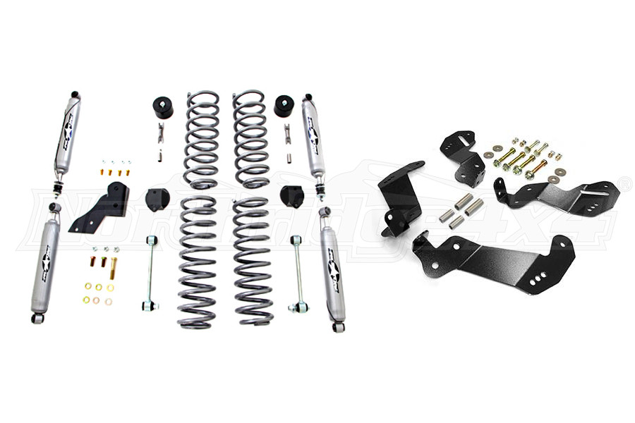 Rubicon Express Shocks and Control Arm Bracket Package (Part Number:SHOCKSBRACKETPKG)