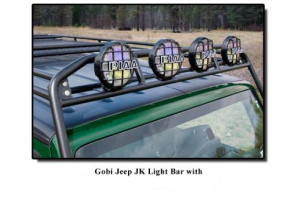 GOBI Ranger Rack Light Bar Brackets ( Part Number: GJJKRLB)