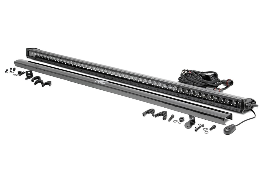 Rough Country 50in Black Series Single Row Light Bar