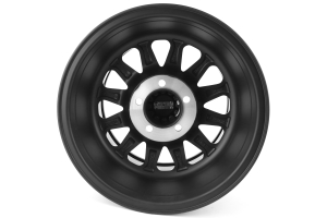 Method Race Wheels Double Standard Series Wheel, Matte Black - 15x8 5x4.5 - TJ/LJ