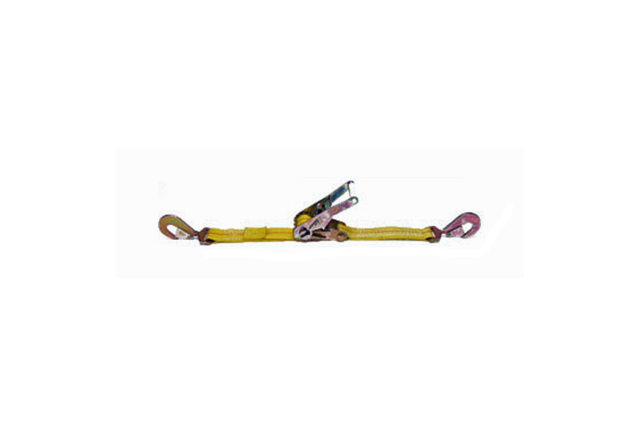 Mac's Ratchet Strap w/ Twisted Snap Hooks 2in x (Part Number:121012)